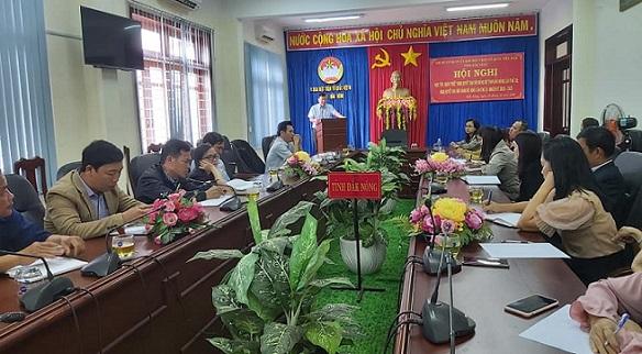 Hội nghị học tập, quán triệt Nghị quyết Đại hội Đảng bộ tỉnh lần thứ XII, Nghị quyết Đại hội Đảng bộ Khối lần thứ IV, nhiệm kỳ 2020 - 2025