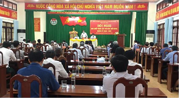 Hội nghị Ban Chấp hành Đảng bộ Khối các cơ quan và doanh nghiệp tỉnh lần thứ 5, nhiệm kỳ 2020 - 2025