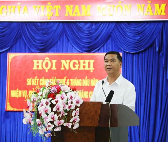 Sáu tháng đầu năm 2021, Cục Thuế tỉnh Đắk Nông  thu đạt và vượt các chỉ tiêu đề ra