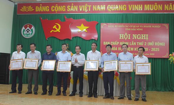 Hội nghị Ban chấp hành Đảng bộ Khối các cơ quan và doanh nghiệp tỉnh Đắk Nông (mở rộng) lần thứ 2, nhiệm kỳ 2020 - 2025