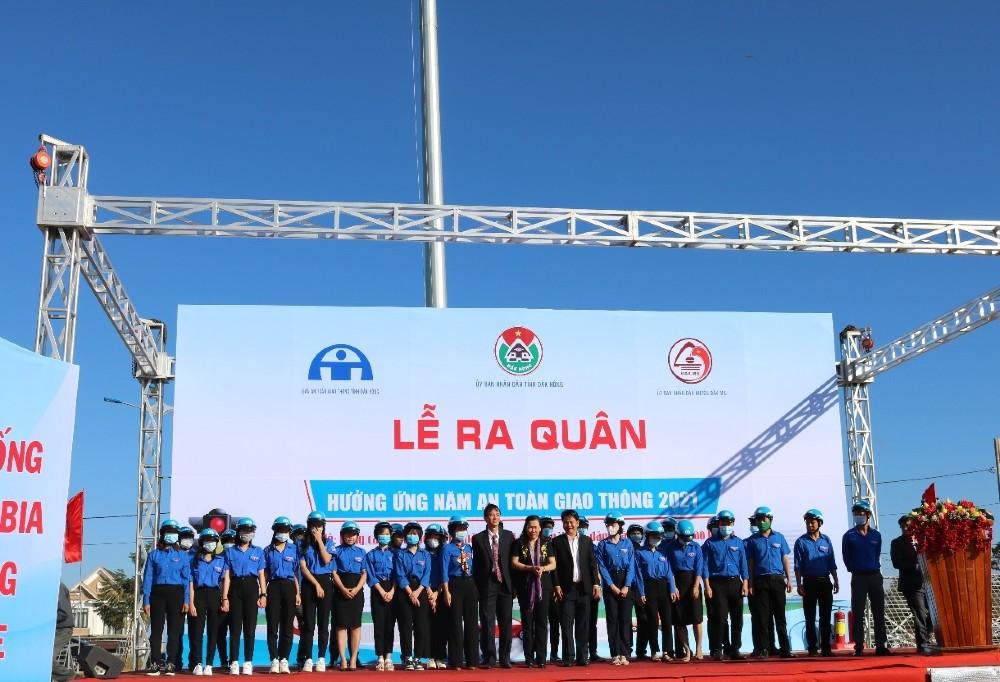 Tình hình trật tự an toàn giao thông trong tỉnh Đắk Nông tháng 2/2021