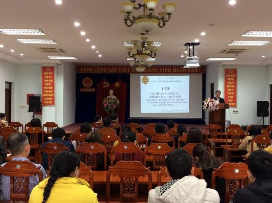 Cục Thuế tỉnh Đăk Nông: Hơn 1000 lượt tổ chức, cá nhân được phổ biến chính sách pháp luật thuế mới